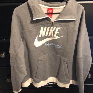 Nike Zip Sweatshirt. Never Worn